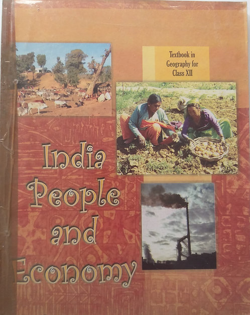 NCERT INDIA PEOPLE AND ECONOMY BOOK FOR CLASS 12th