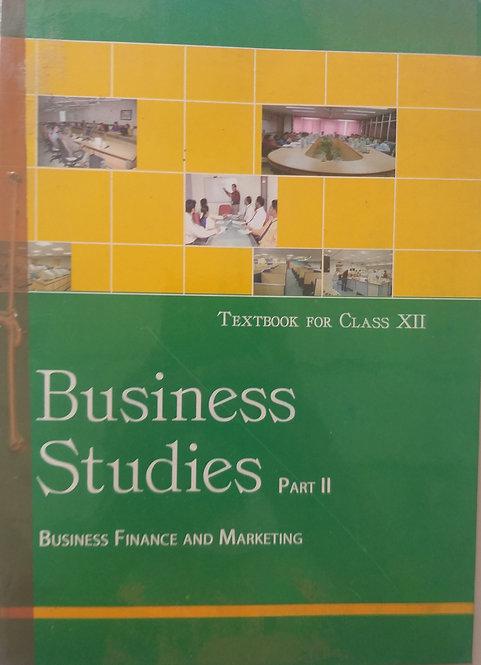 NCERT BUSINESS STUDIES BOOK FOR CLASS 12th PART - 2