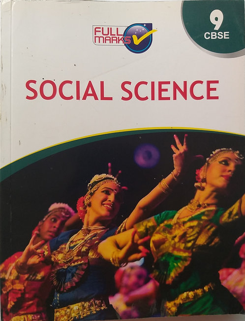 FULL MARKS SOCIAL SCIENCE BOOK FOR CLASS 9th