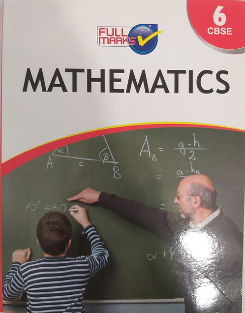 FULL MARKS MATH BOOK FOR CLASS 6th