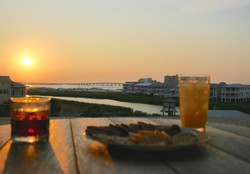 Sunset Aperitif's from the balcony