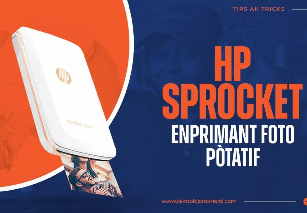 Enprimant Foto- HP Sprocket