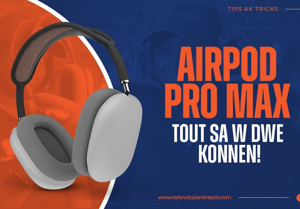 AIRPOD MAX Tout saw dwe konnen | all you need to know