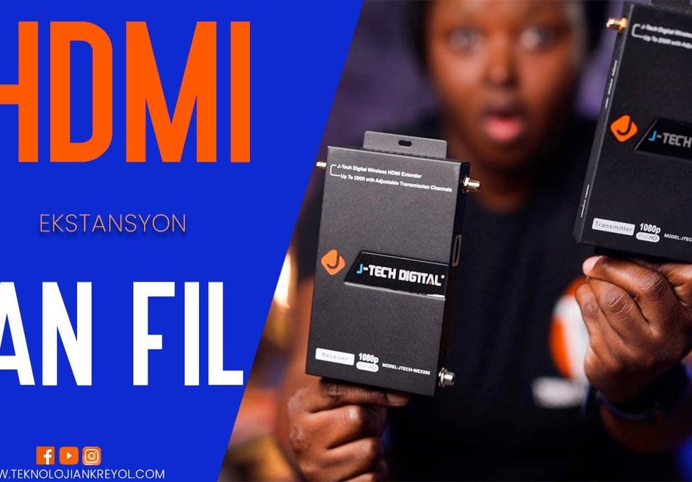 HDMI EKSTANSYON SAN FIL | HDMI WIRELESS EXTENDER JTECH