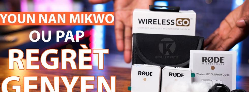 Mikwo RØDE Wireless GO
