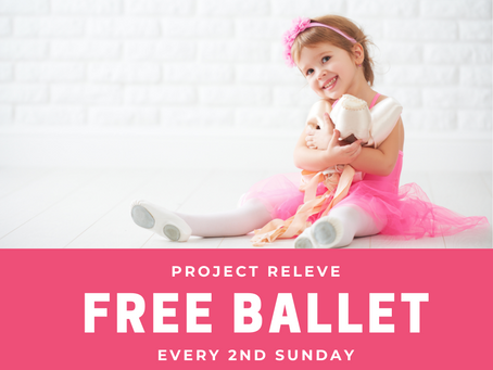 """Project Releve"" Free Ballet Offered"