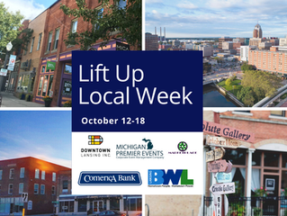 Lift Up Local Week October 12 - 18