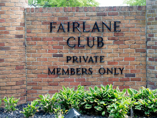 Event at the Private Members Only FAIRLANE Club