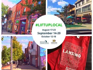 Lift Up Local Week in Lansing, Michigan Sept. 14 - 20