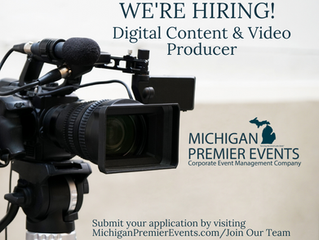 Join Our Team! Digital Content & Video Producer