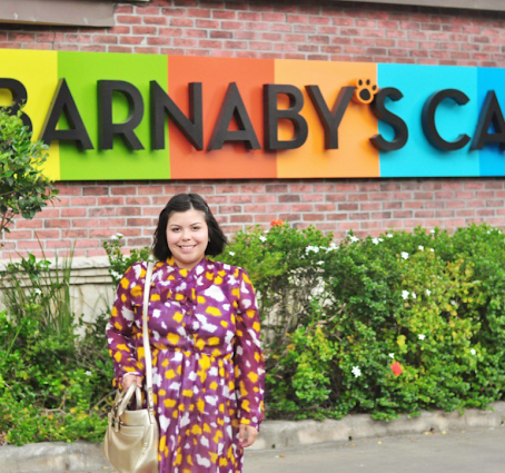 6 Tablespoons Of : Out And About In Houston : A Visit To Barnaby's.