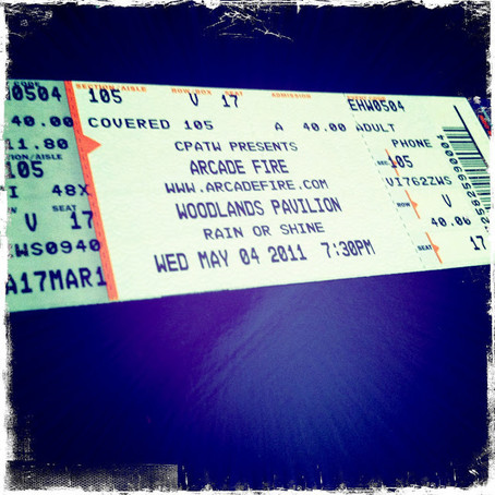 1 Tablespoon Of : Arcade Fire Concert..Arcade Fire Concert…. ARCADE FIRE CONCERT!!!!!!! AHH!