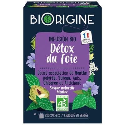 """Infusion bio """"Détox du foie"""""""