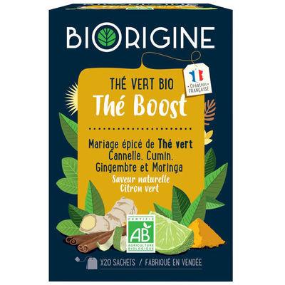 "Thé vert bio ""The boost"""