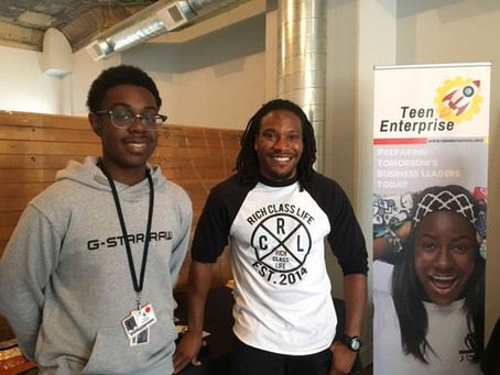 """Teen entrepreneurs """"Dare 2 Believe"""" in themselves at pop-up storefront"""