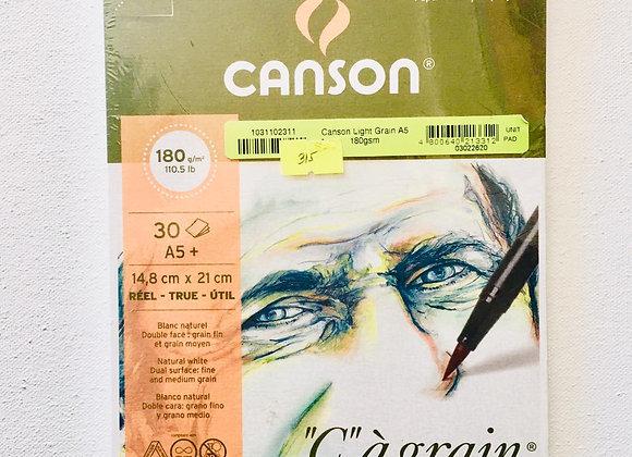 Canson Light Grain A5 180 gsm