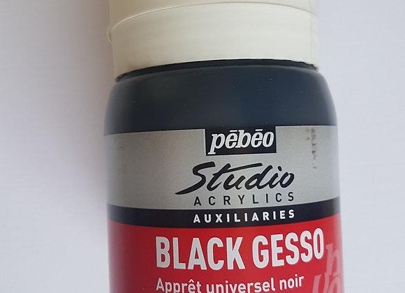 Acrylic Black Gesso 500ml