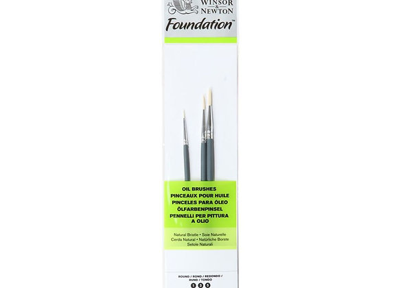Winsor & Newton Oil Brushes Set (1,3,5)