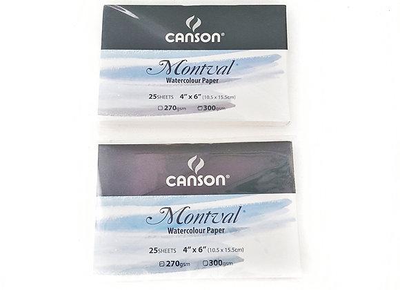 Canson Montval Postcard 300gsm