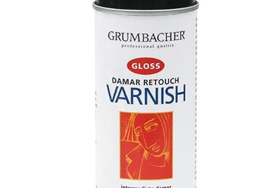 Grumbacher spray