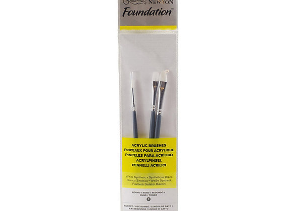 Winsor & Newton Acrylic Brush Set (2,4,2)