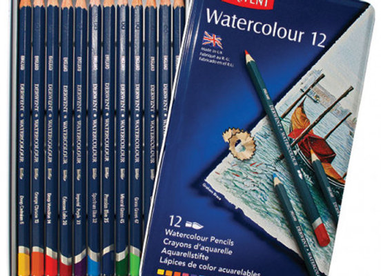 Derwent Watercolour Pencil 12's