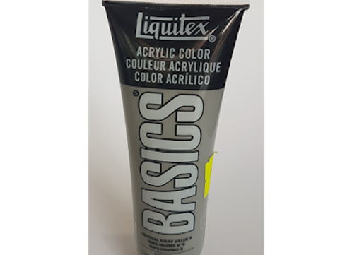 liquitex acry 118ml natural gray