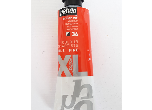 Pebeo Oil Color 36 Vivid Red  60ml