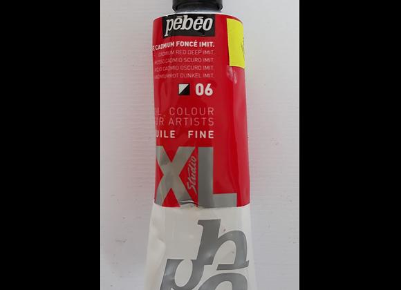 Pebeo Oil Color 06 Cadmium Red Deep Imit 60ml