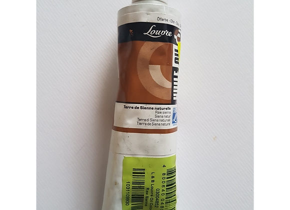 L&B Louvre oil color 60ml Raw Sienna