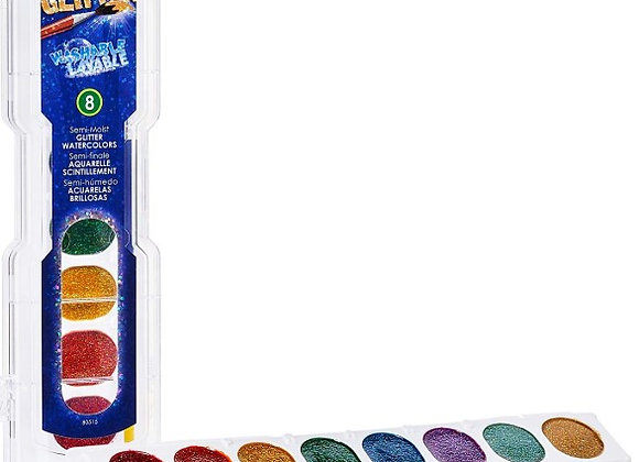 prang watercolor set oval glitters