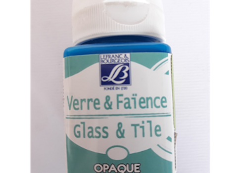 l&b glass & tile colors 50ml azure blue