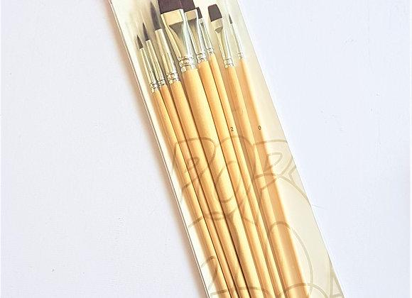 Pop Art Oil & Arcylic Brush 8's
