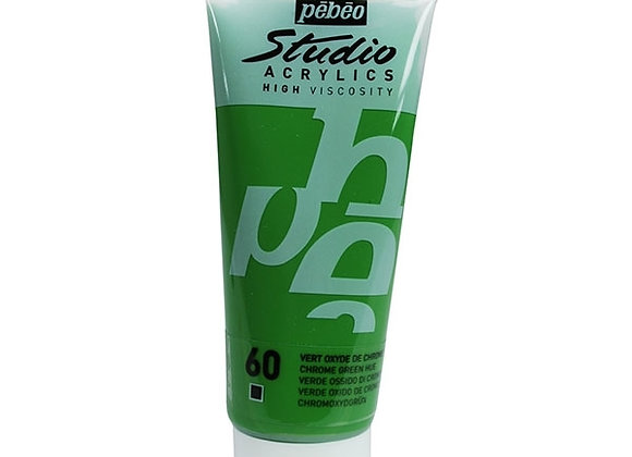 60 Pebeo Chrome Green Acrylic 100ml