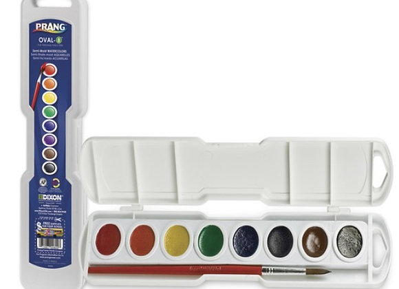Prang watercolor set oval 8