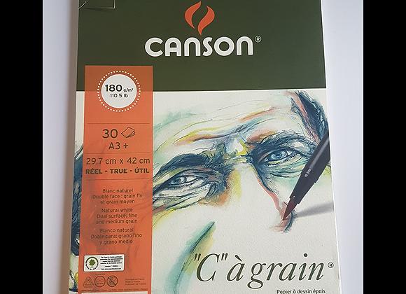 canson light grain A3 180 gsm