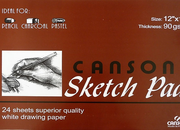 Canson Sketch Pad 24 sheets