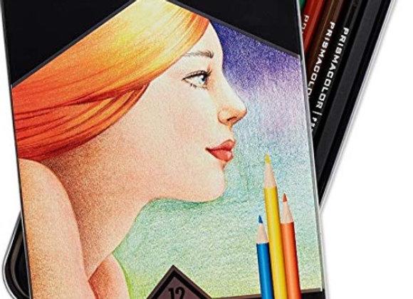 prisma watercolor pencil 12'c