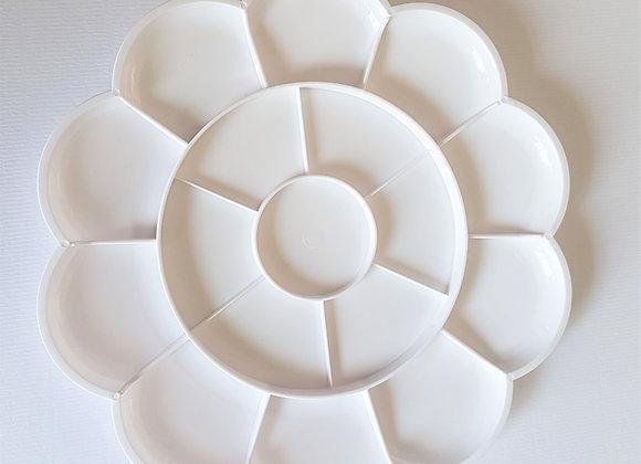Tiger Circle Mixing Plate