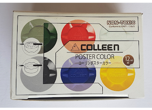 Coleen Poster Colors 12ml  6's