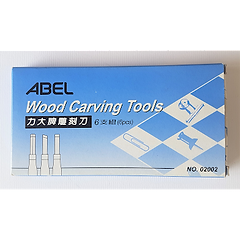 Abel Wood Carving Tools 6's