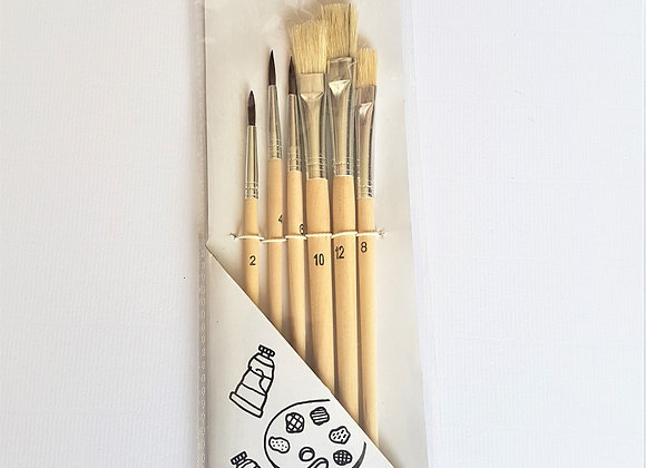 Tiger Art Brush 6's