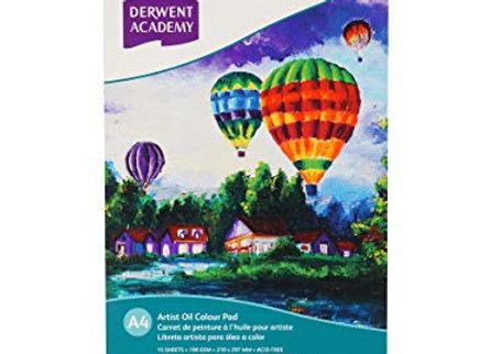 Derwent - Oil Paint Pad A4