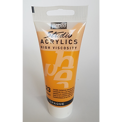 23 Pebeo Studio Acrylics High Viscosity Cadmium  Yellow Medium Hue Opaque 100ml