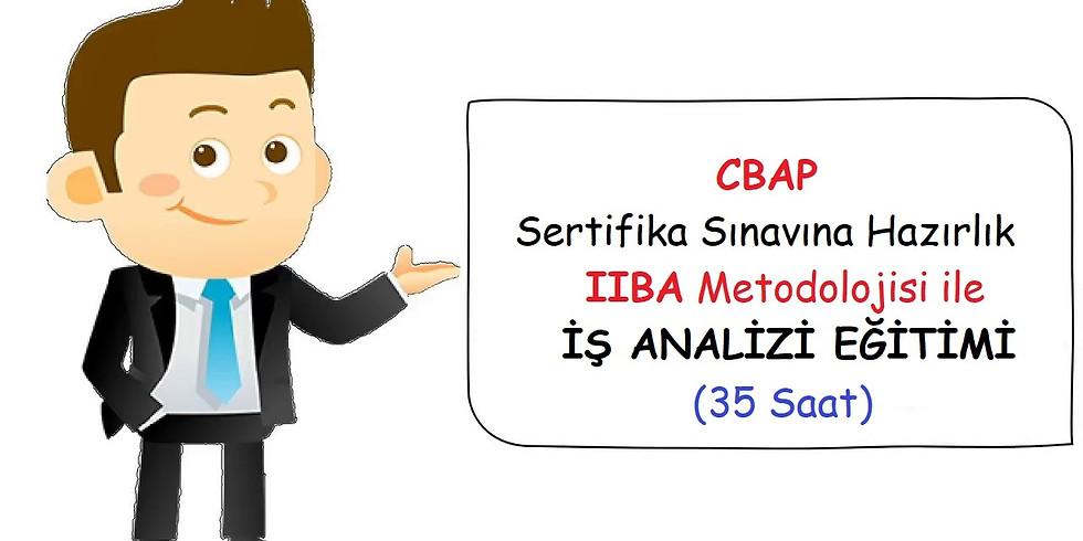 İSTANBUL - IIBA® CBAP Sertifika Sınavı Eğitimi