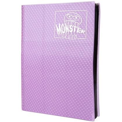9 Pocket Holofoil Purple Card Binder