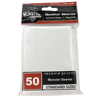 Standard Glossy Sleeves White