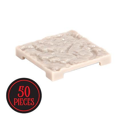 Monster Terrain | 50 Cracked Tiles | Paintable