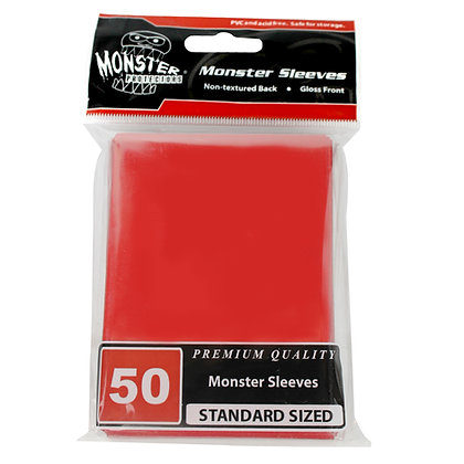 Standard Glossy Sleeves Red
