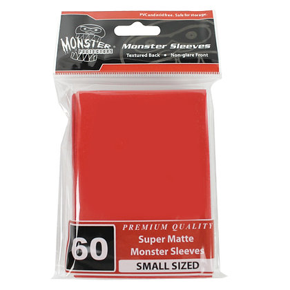 Small Super Matte Sleeves Red